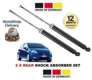 FOR FIAT PUNTO + GRANDE PUNTO 199 2006 > 2x REAR SHOCK ABSORBER SHOCKER SET