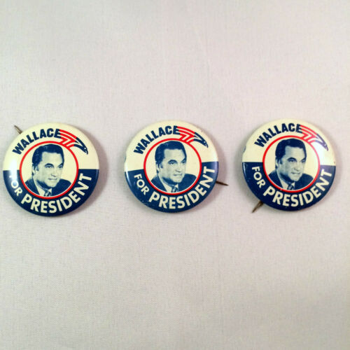 Vintage Wallace For President Pinback Campaign Button