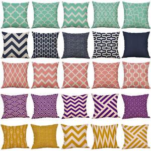 Fashion-Mustard-Pillow-Case-Geometric-Fall-Autumn-Sofa-Cushion-Cover-Home-Decor
