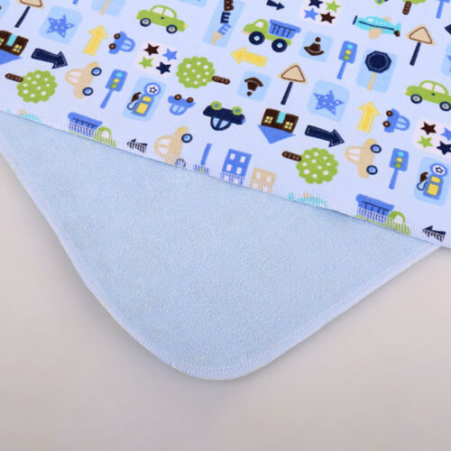 Baby Infant Diaper Nappy Urine Mat Waterproof Bedding Cotton Changing Cover Pad