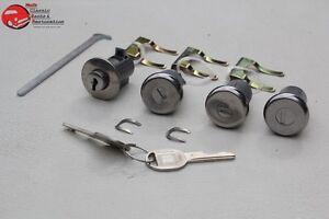 58-63-Chevy-Fullsize-Lock-Cylinder-Kit-Glove-Box-Trunk-Door-Later-Round-Oval-Key