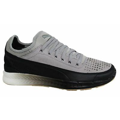Puma Ignite Sock Select Lace Up Grey Black Mens Trainers 360100 02 M12