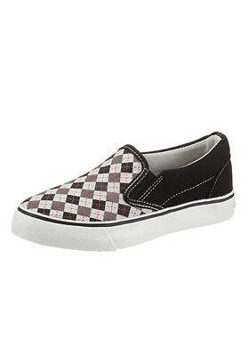 DOCKERS Schuhe Slipper Canvas in schwarz - Neu