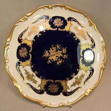 Fasto PIASTRA Reichenbach ORO COBALTO ORO Ornament ROSE barocco 30cm piastra a torta