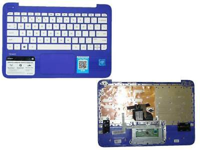 "HP 11-y020wm 11-y series 11.6/"" Palmrest with Keyboard Purple P//N EAY0H01107A"