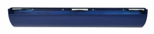 Wandregal Holz Erle Furnier 80x20 cm Profil Klemmleiste UNO Alu blau