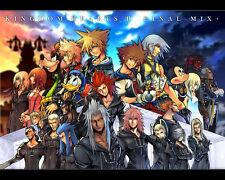 "Kingdom Hearts 2 Boy Game Wall Poster 32/""x24/"" K021"