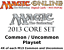 MTGO Magic Online M13 Magic 2013 Playset 724 Cards 4x Common//Uncommon