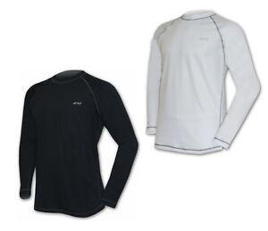 Sport Herren langarm gerippt in blau NEU /& OVP Shirt Marken T-Shirt Funktions