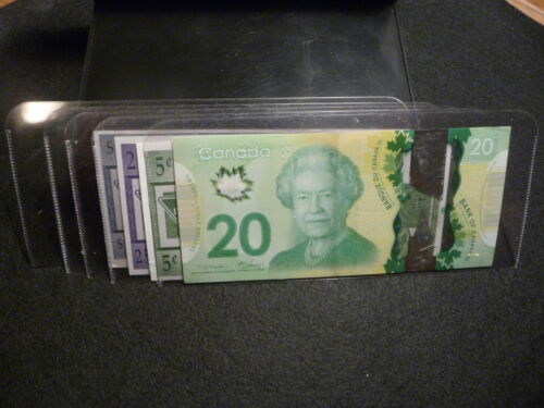 pkg of 25 UNITRADE  ACETATE CURRENCY SLEEVES for MEDIUM  NOTES #16