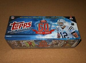 2015 Topps 60th Anniversary Complete Sealed Factory Set in MINT Cards 1-500