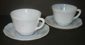 2-Sets-American-Sweetheart-Monax-Cups-amp-Saucers-Macbeth-Evans-Several-Available
