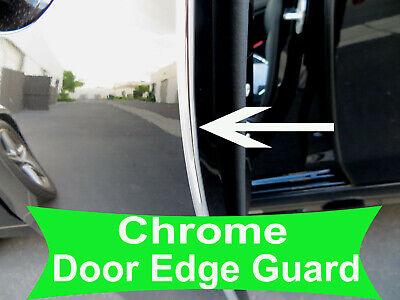 Fit 2003-2018 Dodge CHROME DOOR EDGE GUARD Protector Trim 4pcs Kit