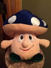 Mushroom shroom plush stuffed animal toy factory blue cap Mario