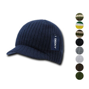 e524d0a0 1 Dozen Beanies Striped GI Campus Jeep Skull Caps Hats Ski Wholesale ...
