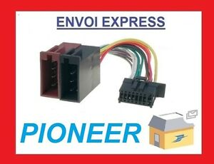 PIONEER ISO Adapter DEH-2600UI DEH-X3600UI DEH-4600BT DEH-X5600BT DEH-X6600DAB