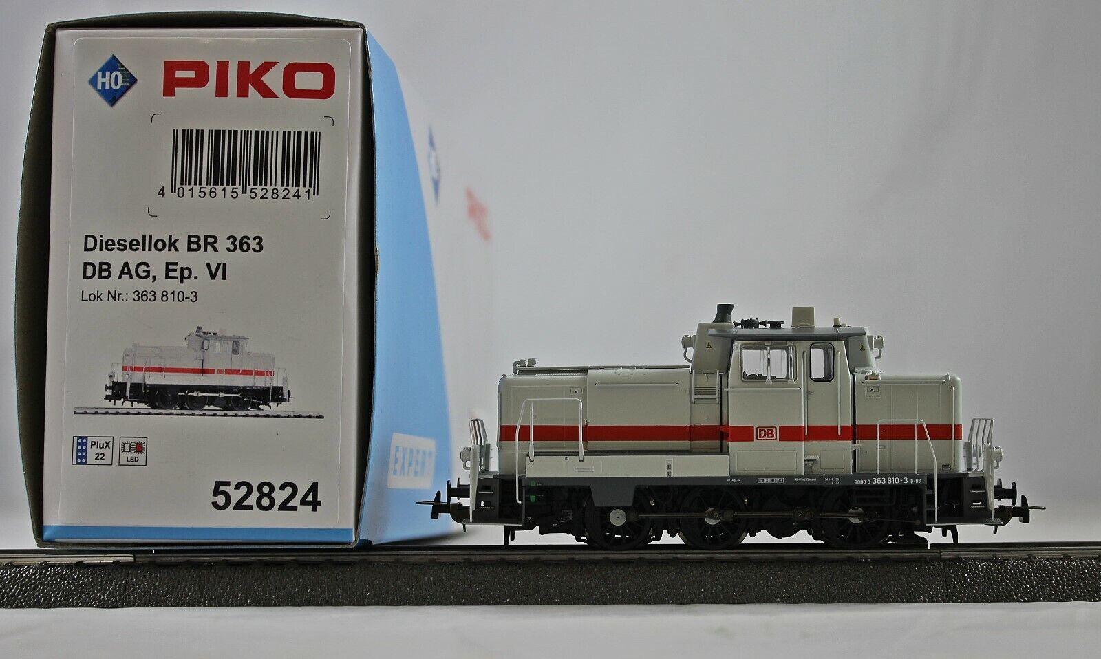 Piko 52824 diesellok br 363 de la DB AG (DC) nuevo con embalaje original