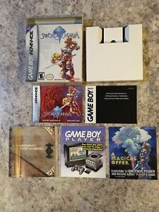 RARE-Nintendo-Gameboy-Advance-Sword-Of-Mana-2003-BOX-MANUAL-IN-ORIGINAL-PLASTIC