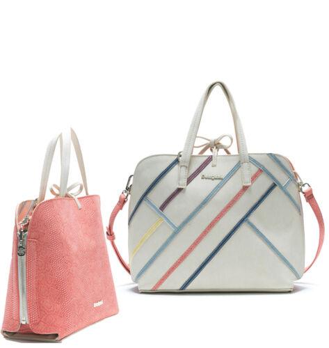 Desigual Women/'s Arianne Hamar Bag RP84 Reversible Large Bag/& Matching Messenger