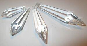 50-Zapfen-38-X12-mm-Fensterschmuck-Lampenschmuck-Kristallanhaenger-Asfour-Crystal