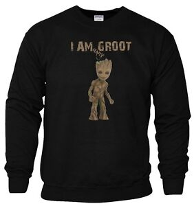 7160a6000fd27 Image is loading Baby-Groot-Sweatshirt-Avengers-Infinity-War-GoTG-Iron-