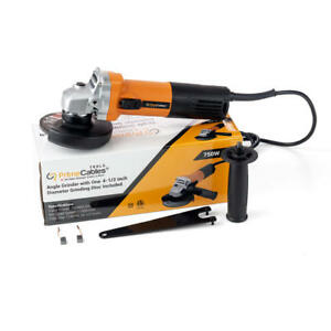 PrimeCables-Angle-Grinder-with-One-115mm-Diameter-Grinding-Disc-Included