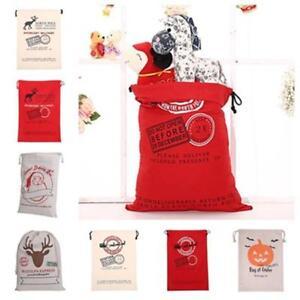 Sacks-Christmas-Gift-Bag-Christmas-Ornaments-Santa-Drawstring-Bags-Decor-CF