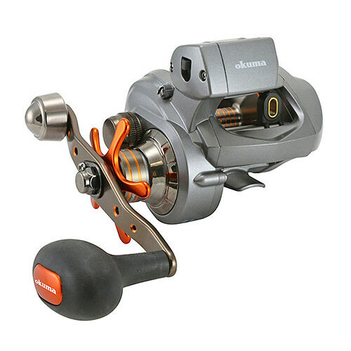 Okuma Cold Water Line  Counter Baitcast Reel 5.4 1, 25Max Drag, Left hand  best-selling