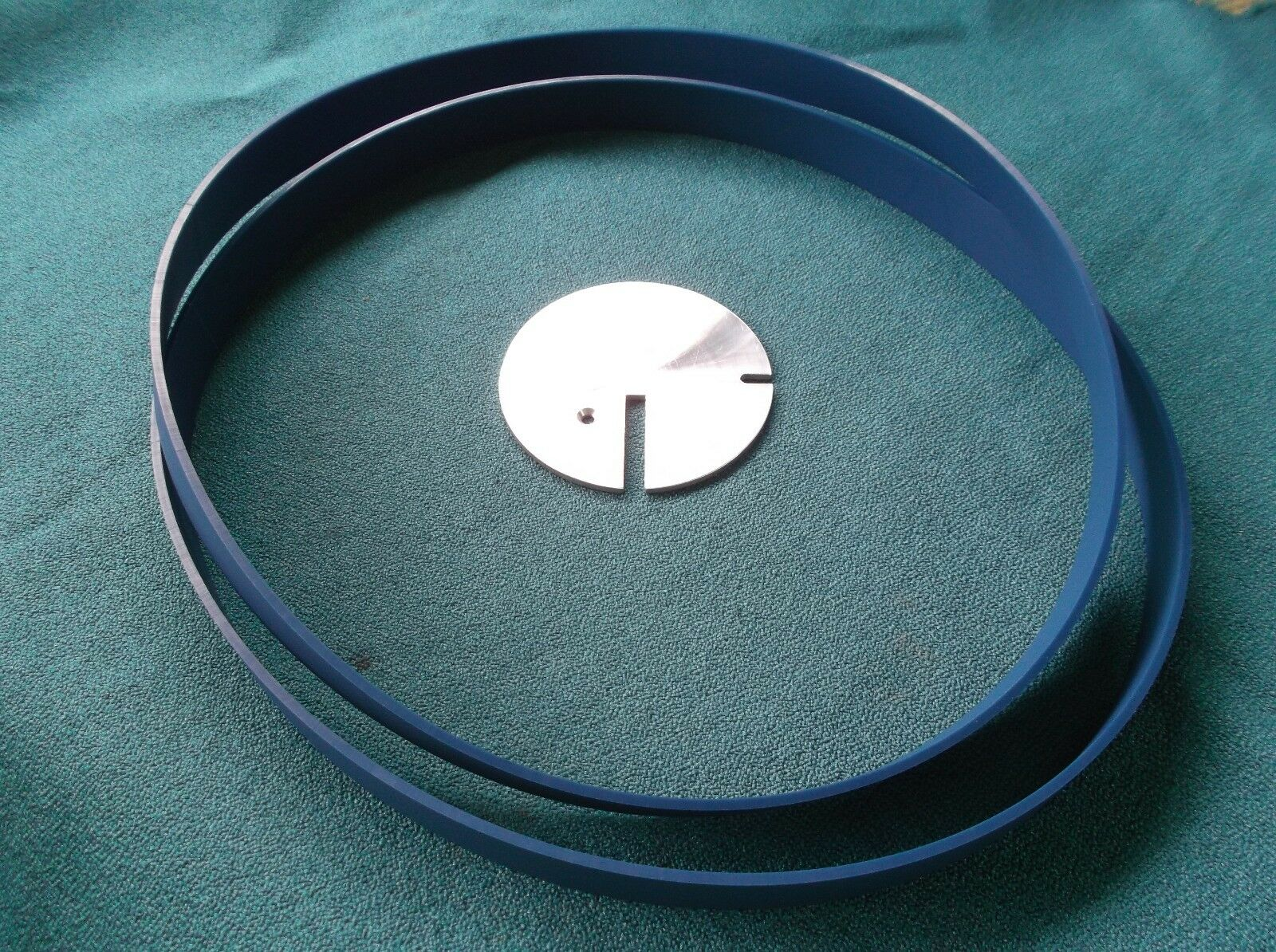 2 Blau di Max a Nastro Sega Pneumatici e Tavolo Inserto per Artigiano