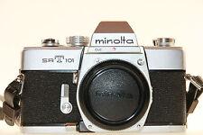 Minolta SRT101 35mm Spiegelreflexkamera nur Gehäuse