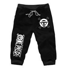 One Piece Nami Rib Cuff Shorts Tapered Sweatshorts Short Jogger 3//4 Harem Pants