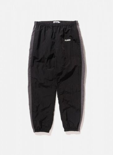 X-Large Nylon équipe Pant Pantalon Jogging Noir XLarge NEUF 17 xiwf 7b//0001
