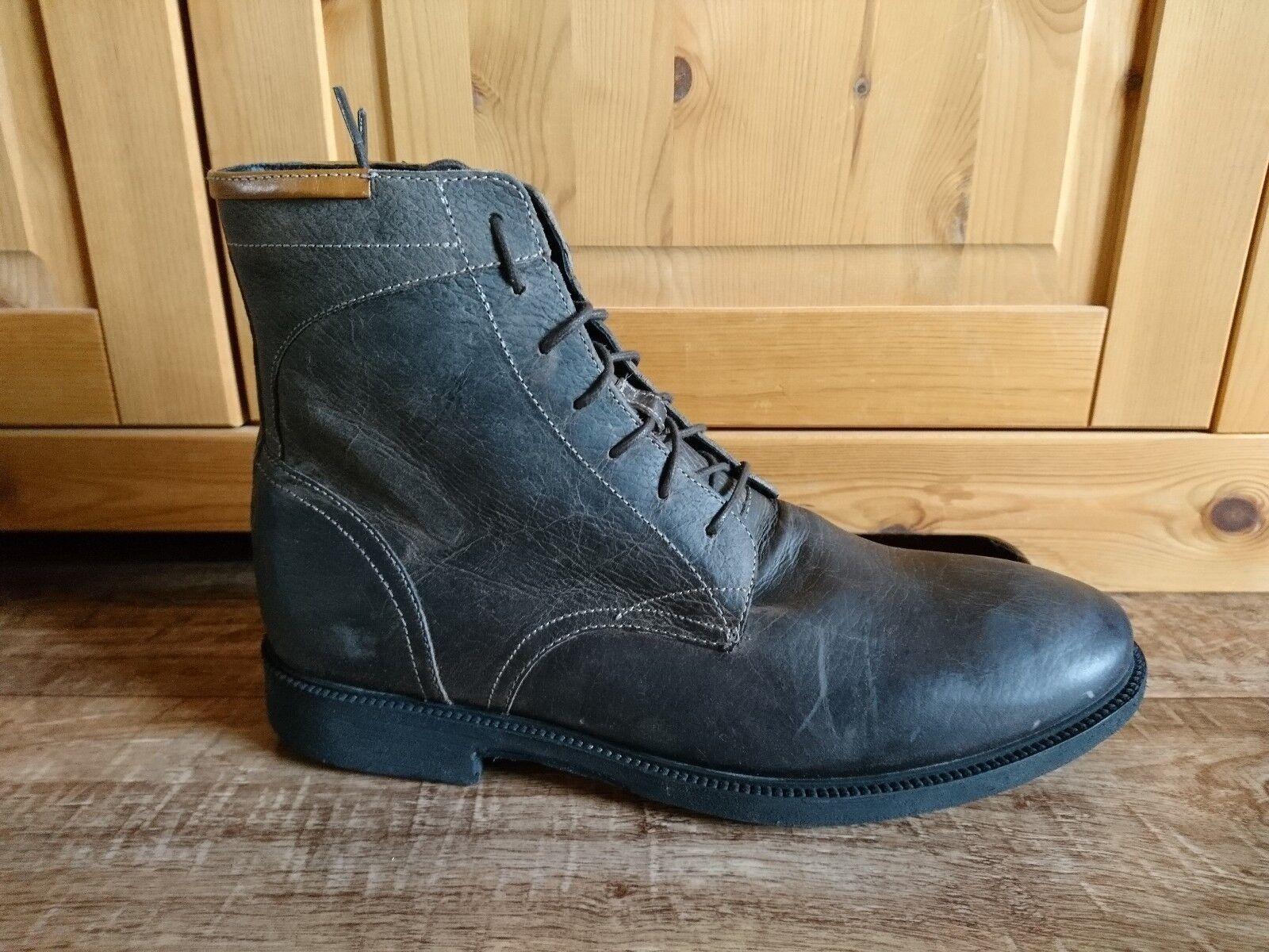 J Shoes Modell Barbican Herren Schuhe Stiefel Boots Stiefeletten Braun Leder NEU