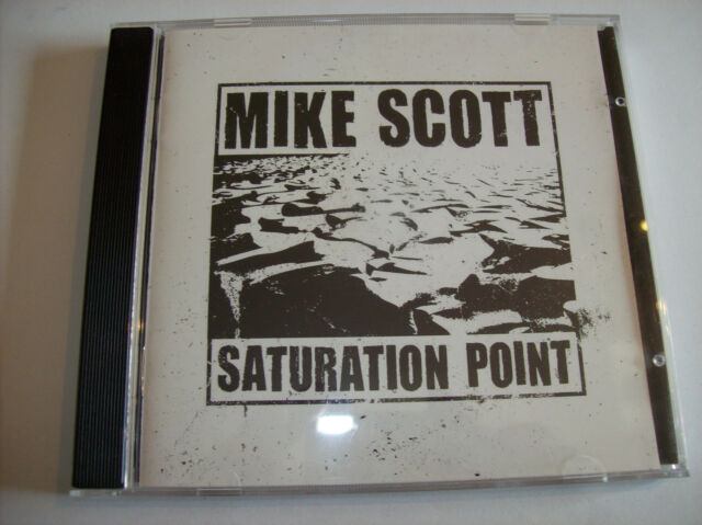 CD - Mike Scott - Saturation Point