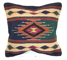 Bright Azteca Design Throw Pillow Cover Couch Cushion Indian Southwest 21 AZ