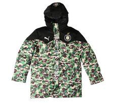 b5b6ca779054 A Bathing Ape Bape Men s Coat Jacket Winter Thicken Green Camo Hooded Long  Tops