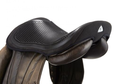 Acavallo GEL OUT Seat Saver Saddle Security Reduce Concussion BlackBrown SML