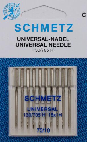 10 SCHMETZ Universal Nadeln 130//705 H Stärke 70