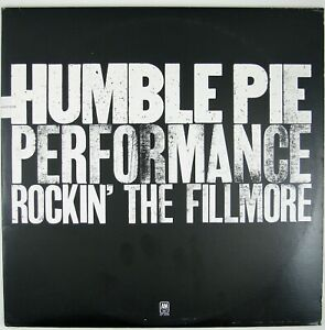 HUMBLE-PIE-Performance-Rockin-039-The-Fillmore-2LP-1981-HARD-ROCK-NM-NM