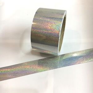 Silver-Glitter-Holographic-Tape-Choose-your-size