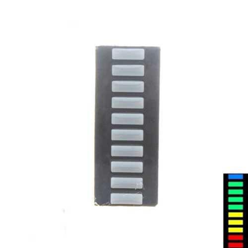 2-4Pcs LED Amber Bar Graph Display 10 Segments LED Displays 10 Bargraph