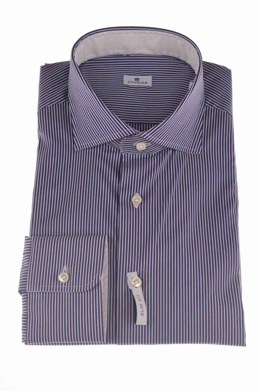 Sonrisa  -  Shirts - male - bluee - 233826A180947