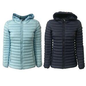 online store 804cf 0858c Dettagli su NORWAY giacca donna 100 gr con cappuccio imbottitura 100%  poliestere KEIRA 97162