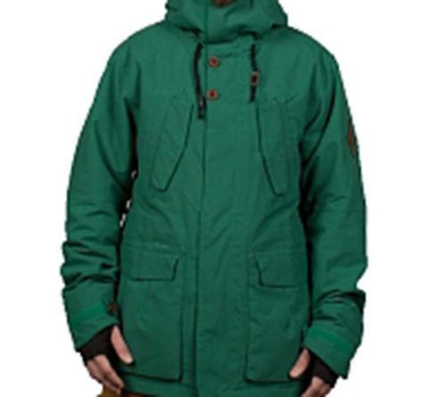 686 Parklan Rituale Impermeabile Parka Giacca da Snowboard Snowboard Snowboard (L) Militare Colore 335bb8