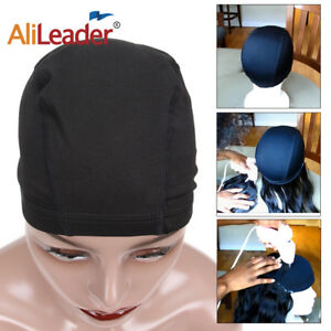 10PC-Dome-Wig-Caps-For-Making-Wigs-Elastic-Breathable-Nylon-Swimming-Weaving-Cap