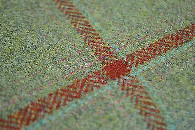 Tweed material by the metre or yard in purple lilac lavender