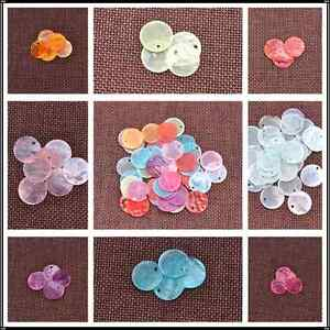 Wholesale-50pcs-Mussel-Shell-Flat-Round-Coin-Charm-Beads-13MM-15MM-18MM-U-Pick