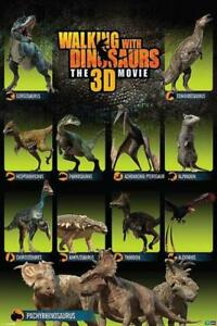 Walking-With-Dinosaurs-Cast-Maxi-Poster-61cm-x-91-5cm-new-and-sealed