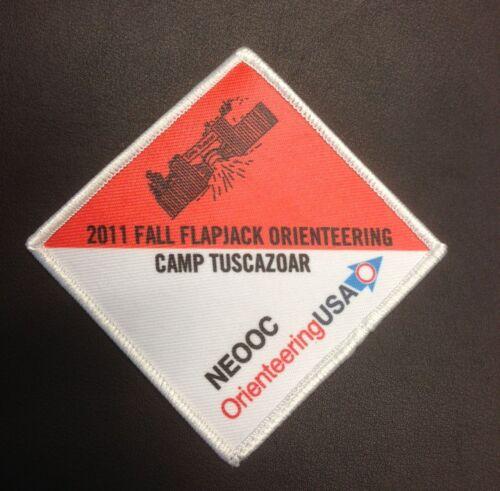 Camp Tuscazoar Fall Flapjack Flip 2011 Orienteering Patch