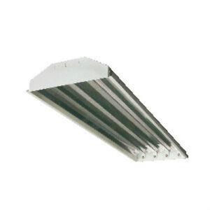 1) 4 Bulb T5 High Low Bay Fluorescent Light Fixture Shop Warehouse ...